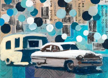 memories of a reality, travel trailer into a land of circles